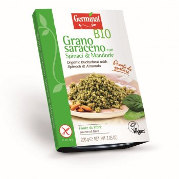 Image:  Organic Buckwheat with Spinach & Almonds