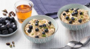 porridge-mirtilli-pistacchio