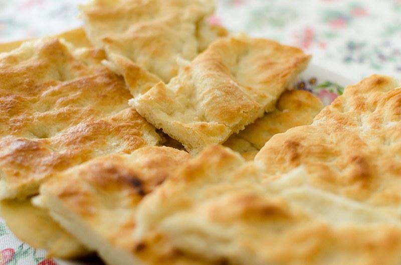 Idee in cucina focaccia senza glutine con mortadella e tartufo