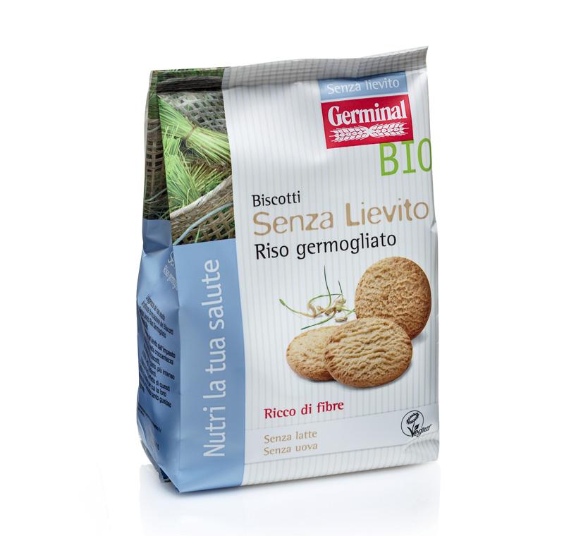 Biscotti Senza Lievito Riso Germogliato Germinal Bio