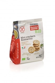 Image:  Mini crackers Rosmarino